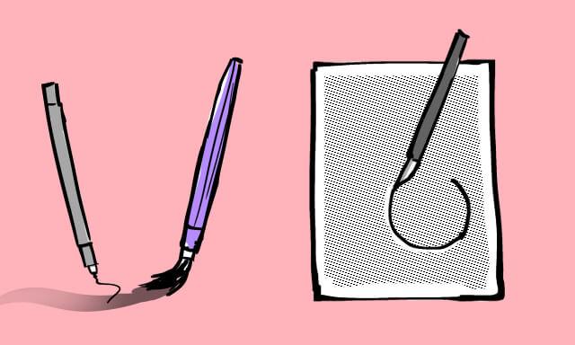 プラスアルファで必要な漫画描く道具の一覧画像