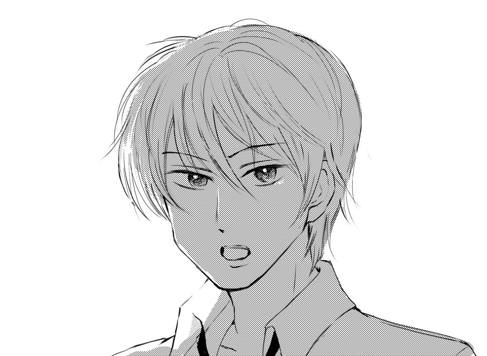 surface proで描いたモノクロ漫画