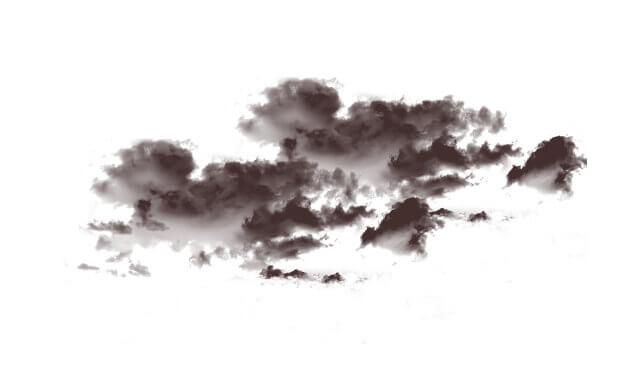 雲のスタンプ