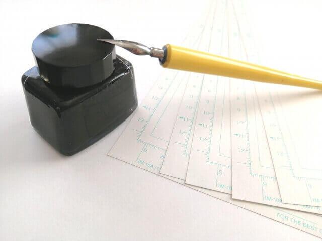 マンガを描く道具